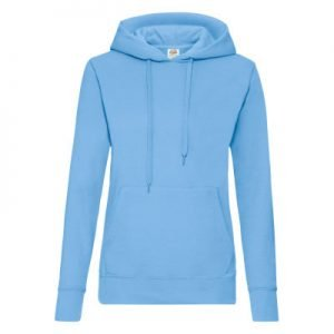 Felpa donna classic hooded sweat