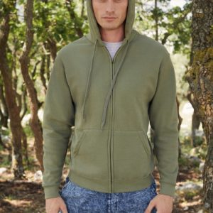 Felpa uomo classic hooded sweat jacket