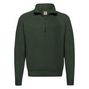 Felpa uomo classic zip neck sweat