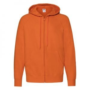 Felpa uomo lightweight hooded sweat jacket