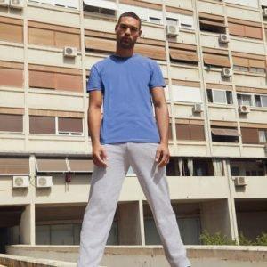 Pantaloni lightweight open hem jog pants