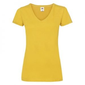 Tshirt donna valueweight v-neck